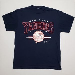 Vintage 90s NY Yankees graphic MLB tee shirt